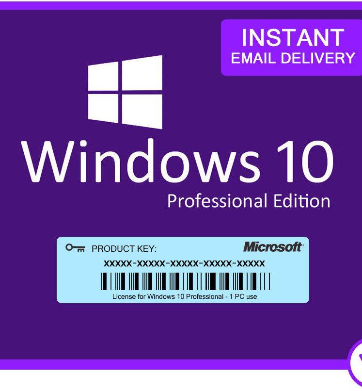 Microsoft Windows 10 Pro - Lastest Version ( License + Download ) » MS  OFFICE WORKS Australia