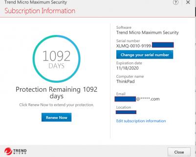 Trend Micro Maximum Security 2018 - 3 Years 3 PCs ( Windows / Mac ) » MS  OFFICE WORKS Australia